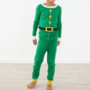 Hanna Andersson Elf Long John Organic Pajamas 5